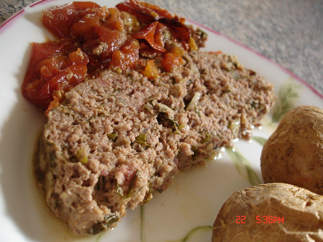 Pain de viande la s gol ne clafoutis compagnie - Portion de viande par personne ...