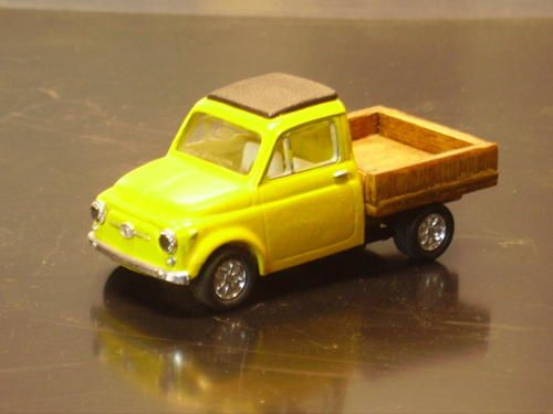 d riv s de fiat 500 au 1 43 seventies en miniatures. Black Bedroom Furniture Sets. Home Design Ideas
