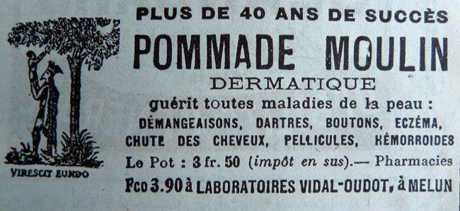 Pommade-moulin