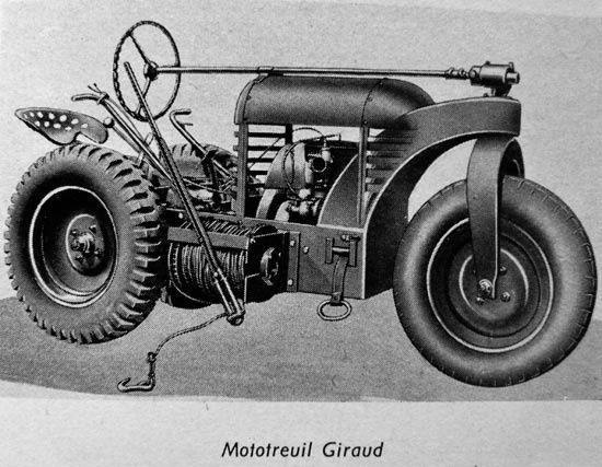 Steampunk-mototreuil