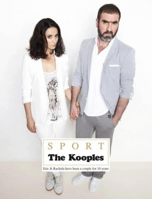 pub de la semaine the kooples sport with the king eric cantona newpubmarketing. Black Bedroom Furniture Sets. Home Design Ideas