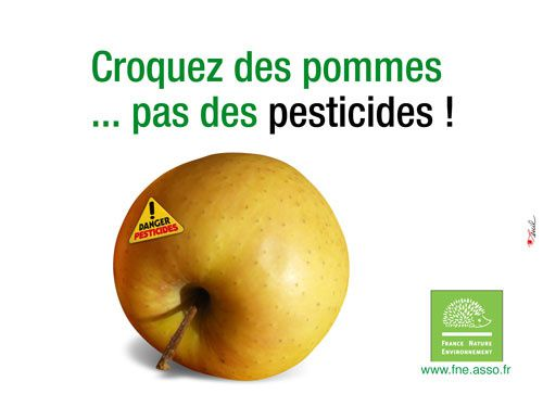 FNE pesticides Pomme