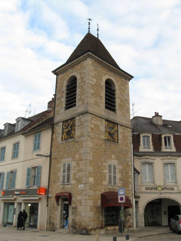 Lons le Saunier - La tour de l'Horloge
