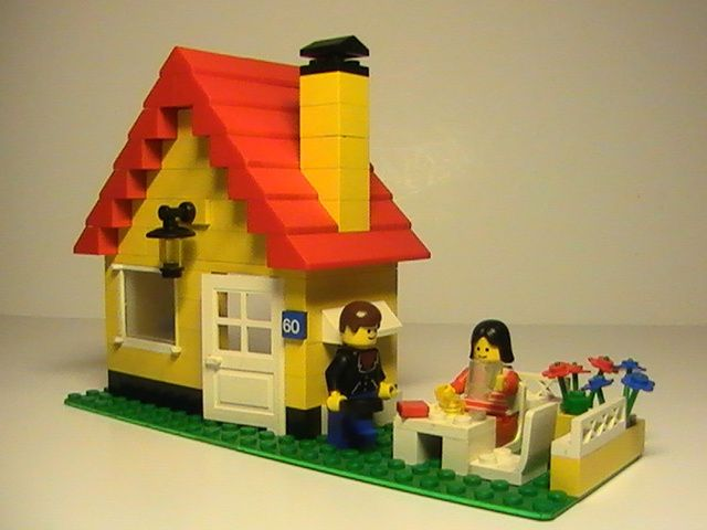 lego n 6360 de 1986 la maison des vacances le blog de jfamus etrainho. Black Bedroom Furniture Sets. Home Design Ideas