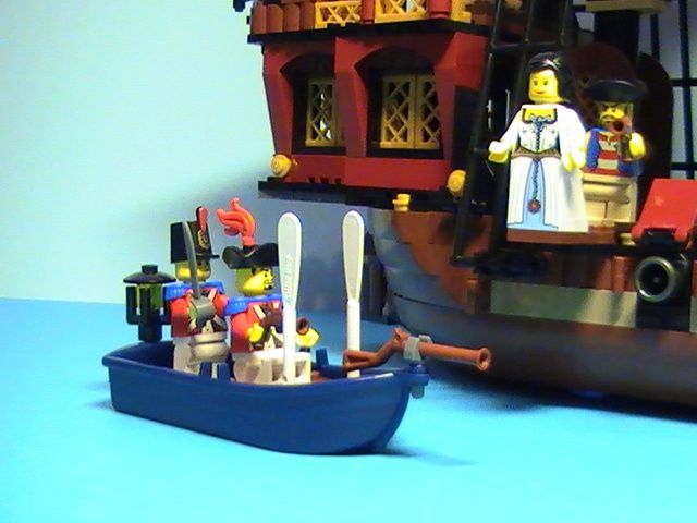 lego n 6243 de 2009 le bateau pirate le blog de. Black Bedroom Furniture Sets. Home Design Ideas