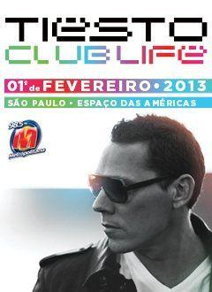 Tiësto date: São Paulo / Brazil 01 February 2013
