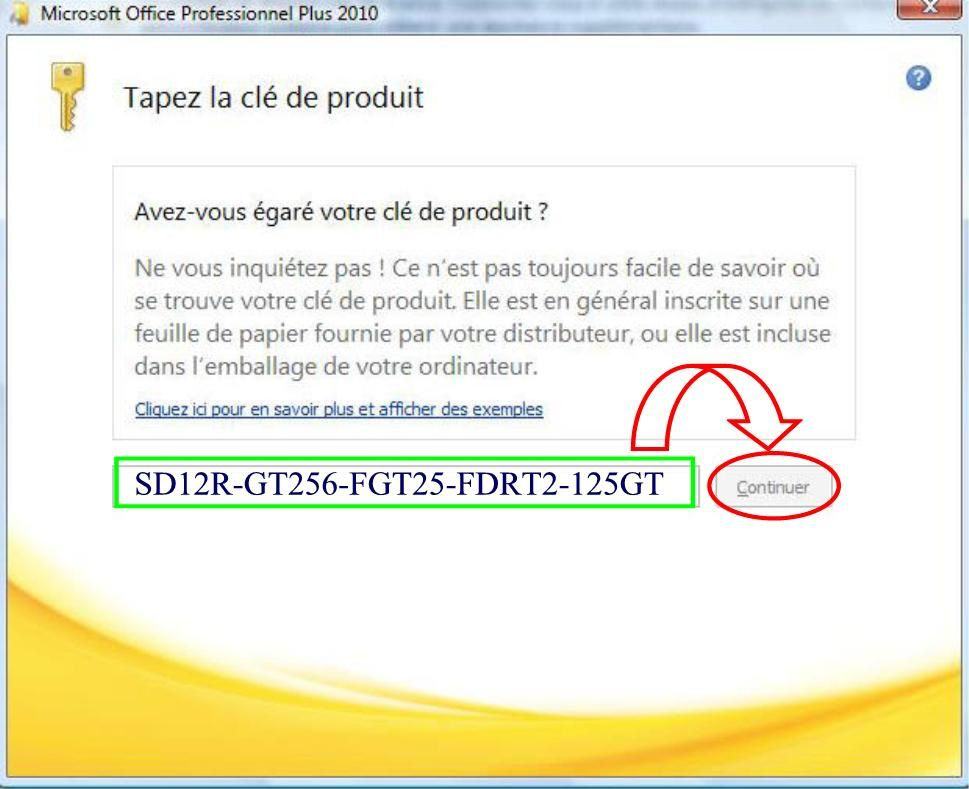 Comment trouver la cle office 2010 - Cle activation office pro 2010 ...
