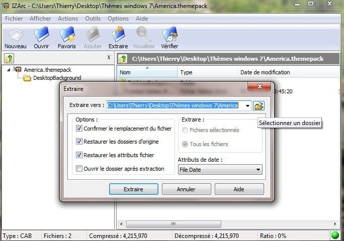 R cup ration des photos cach es des th mes de windows 7 for Fenetre windows 7