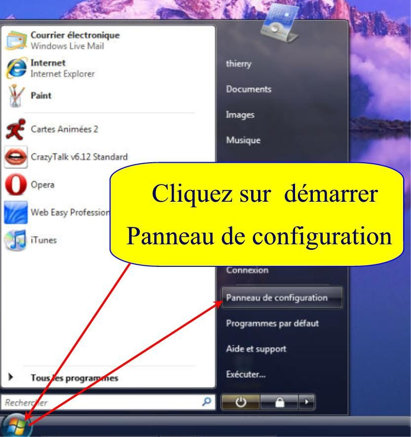 Le volet windows affichage suppression et configuration for Fenetre windows 8