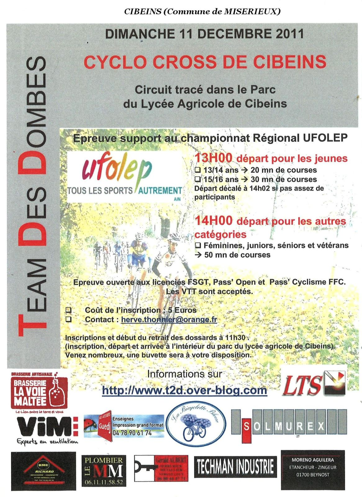 A AFFICHECYCLOCROSS