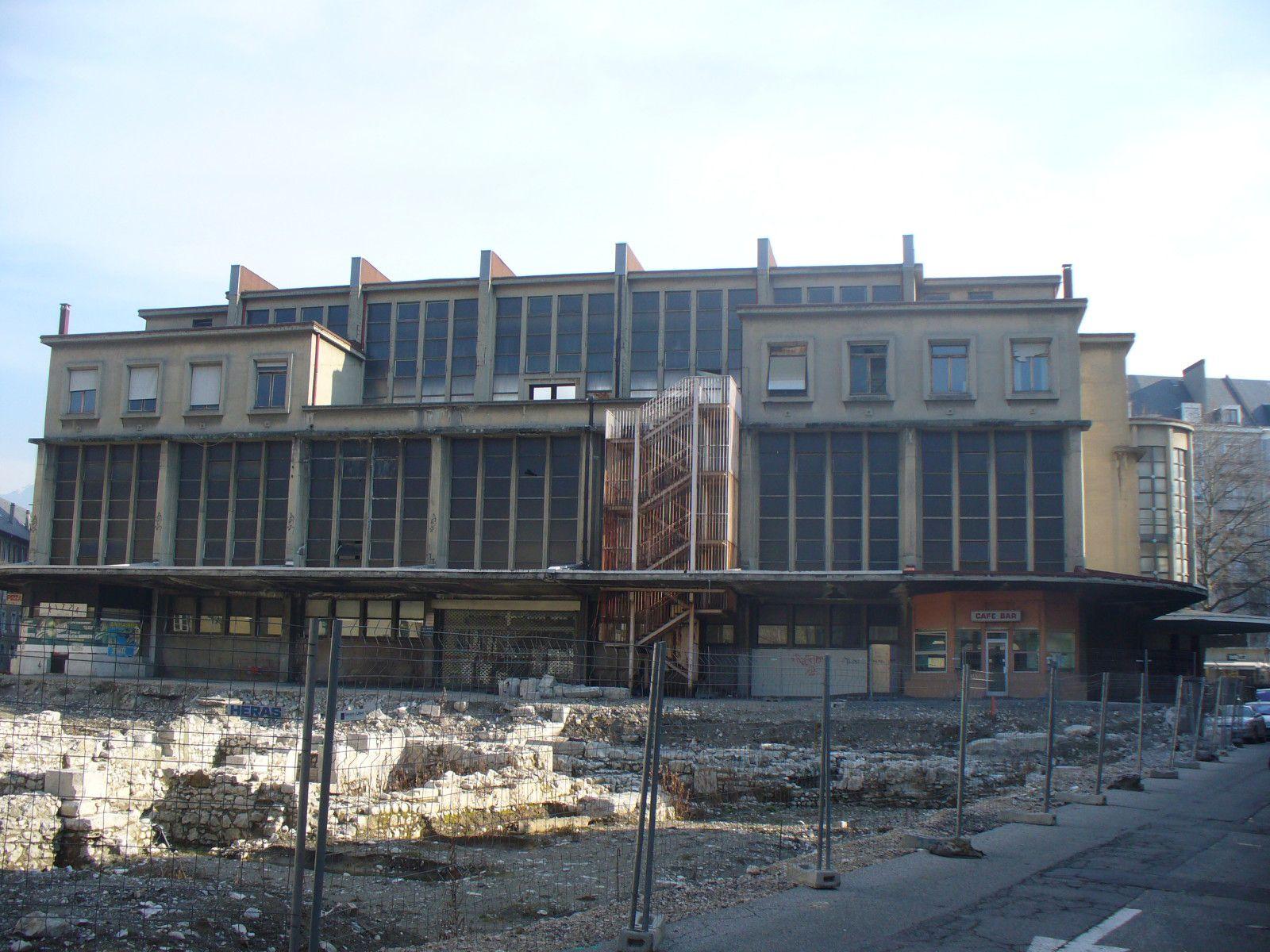 Les Halles de Chambéry II une histoire sans fin Le blog du