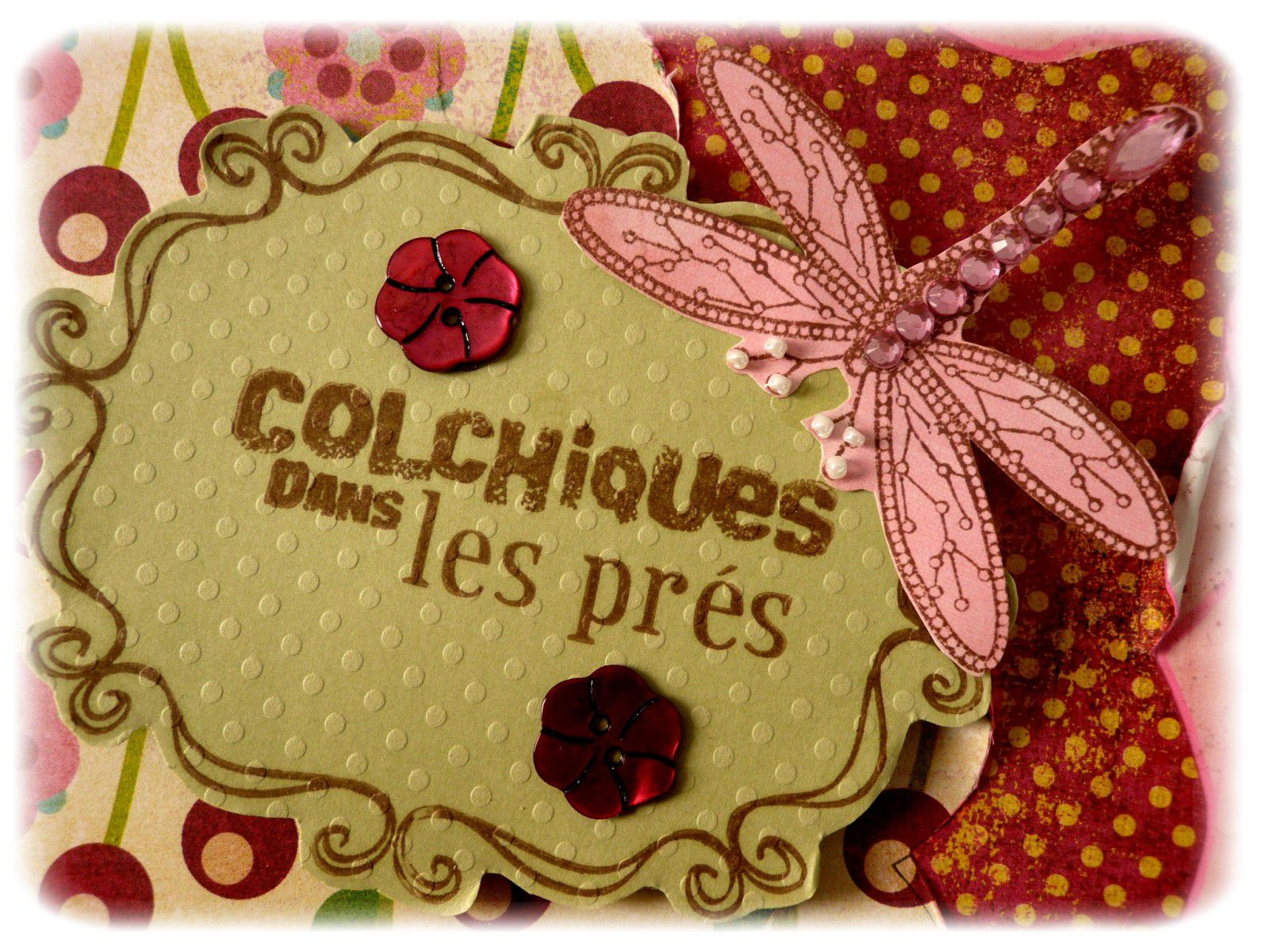 ma participation pour le concours scrapbooking automne 2009 de la fourmi cr ative le blog de. Black Bedroom Furniture Sets. Home Design Ideas