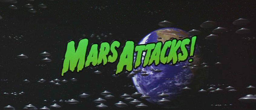 Mars Attacks - générique