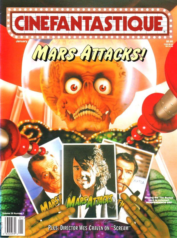 Mars Attacks - Cinefantastique