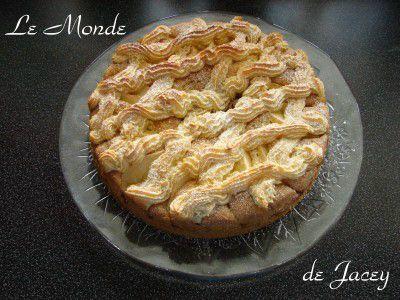 Makronen Apfel Kuchen Le Monde De Jacey Tunesische Kuche