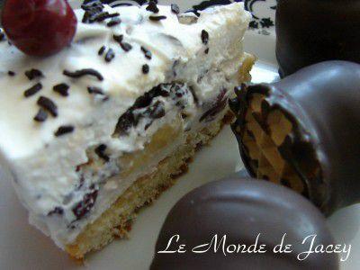 Mohrenkopftorte Mit Fruchten Le Monde De Jacey Tunesische Kuche