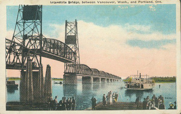 PC interstate-5 bridge vancouver ferry ca1920