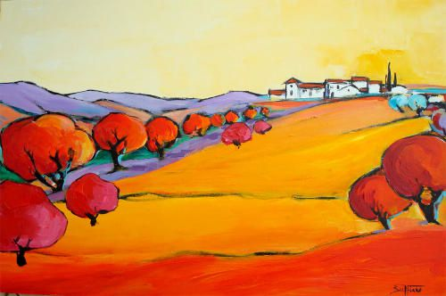 provence - Marie Buffiere, peintre