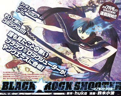 Black Rock Shooter manga