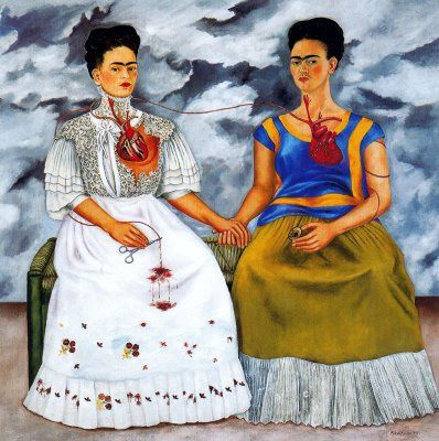 Frida Kahlo le due frida