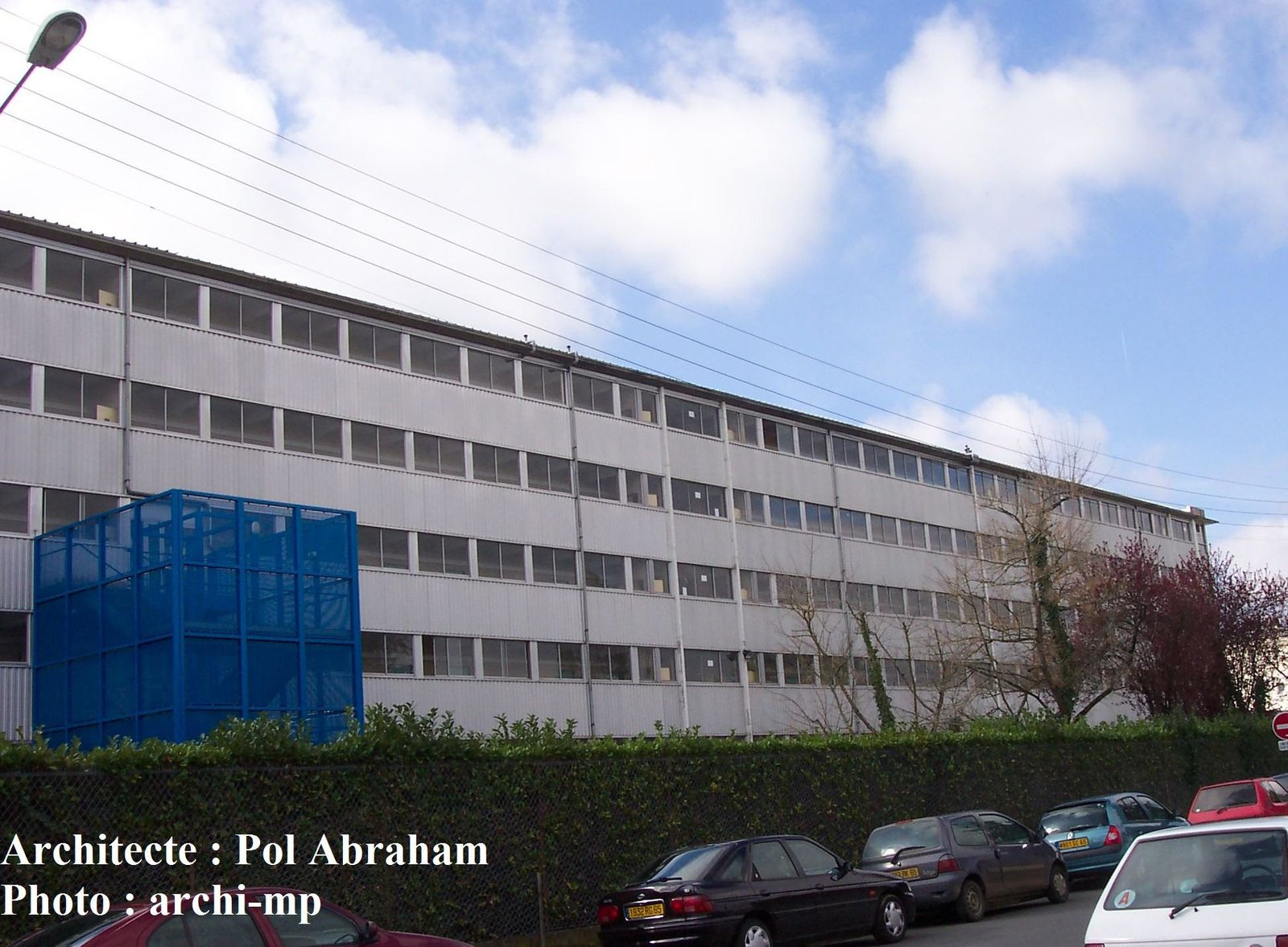 Lycee marie curie tarbes for Architecte tarbes