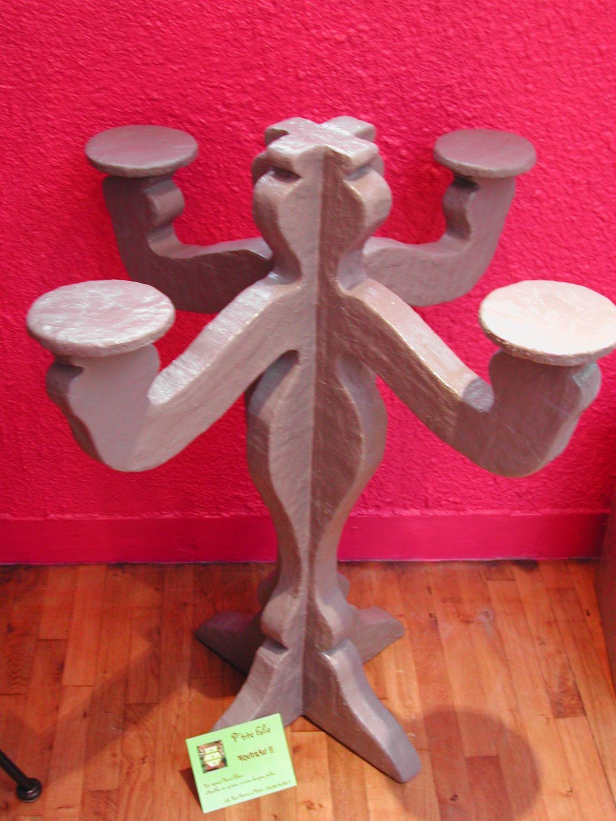 Un chandelier en carton !! - MEUBLE EN CARTON - TIKARTON