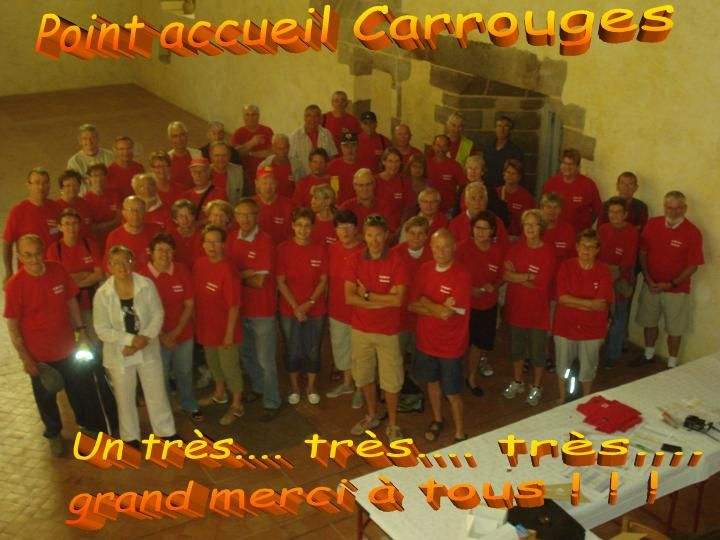 08/2011 S.F. Flers.... Point Accueil Carrouges.....