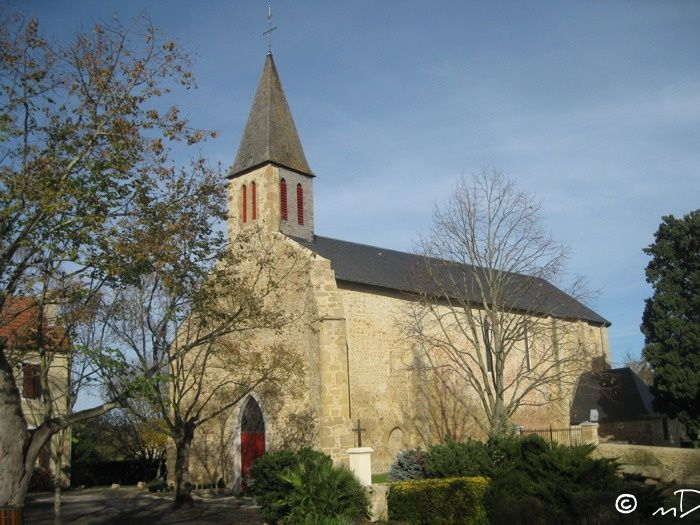 Eglise de St Jean Poudge MD
