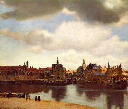 Vermeer-vue de Delf