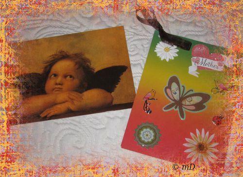 Ange et carte M TX