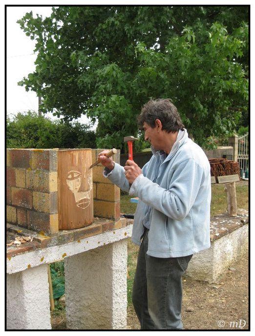 Arnaud travail de bois TX