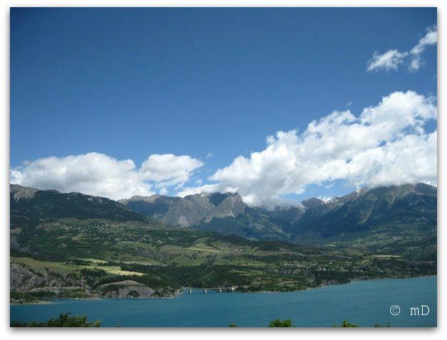 Lac de Serres-Ponçon à Savines 21 k
