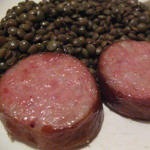 Lentilles Morteau
