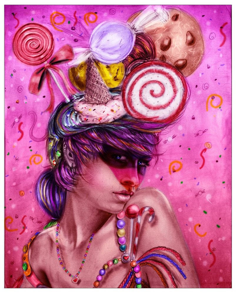 Candy Girl by IsaiahS