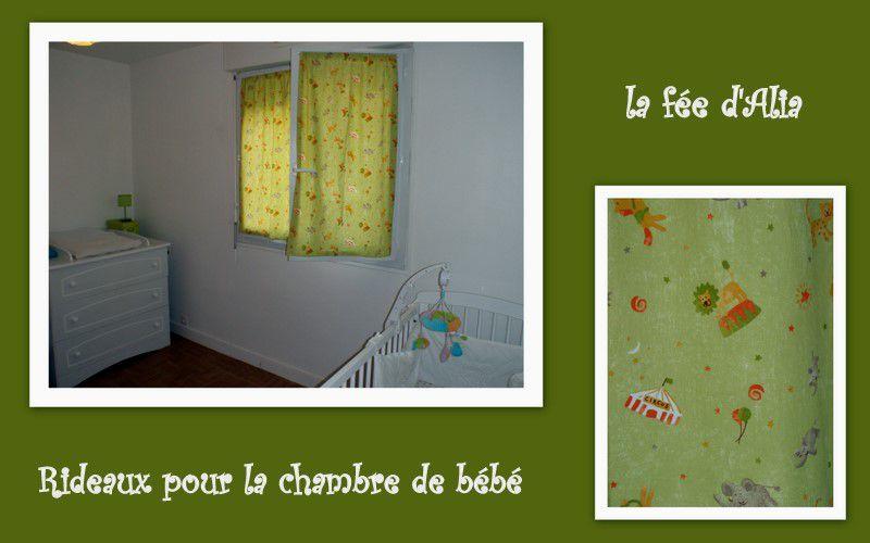 rideaux chambre bébé