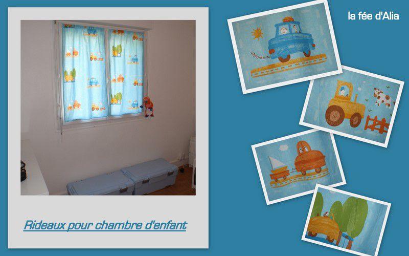 rideaux chambre enfant