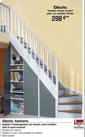 Amenagement interieur le blog de nj for Penderie sous escalier