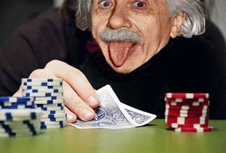 Photo Einstein Poker