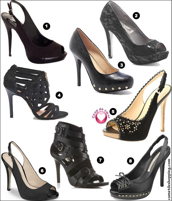 selection chaussures noires