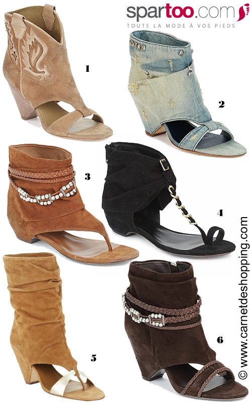 sandales-boots spartoo