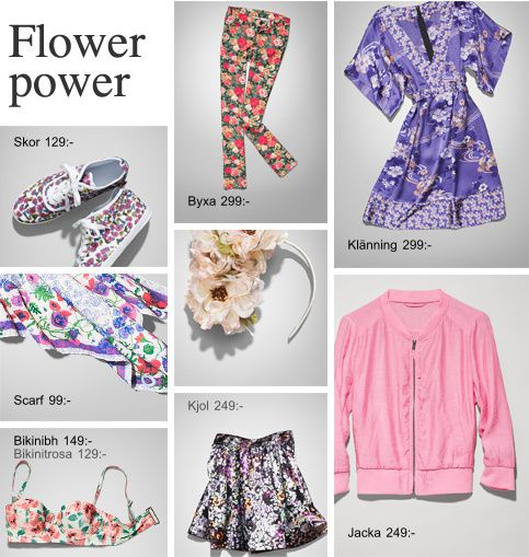 h&m flower power 1