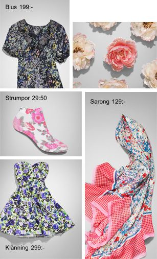 h&m flower power 2