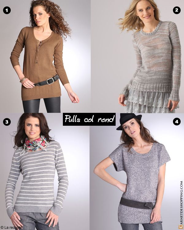 laredoute pull-rond