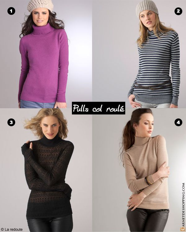 laredoute pull-roule