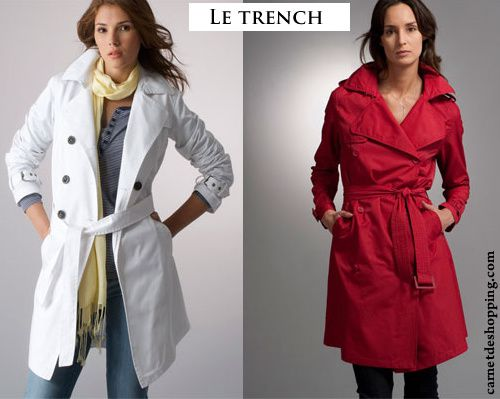 laredoute trench soldes