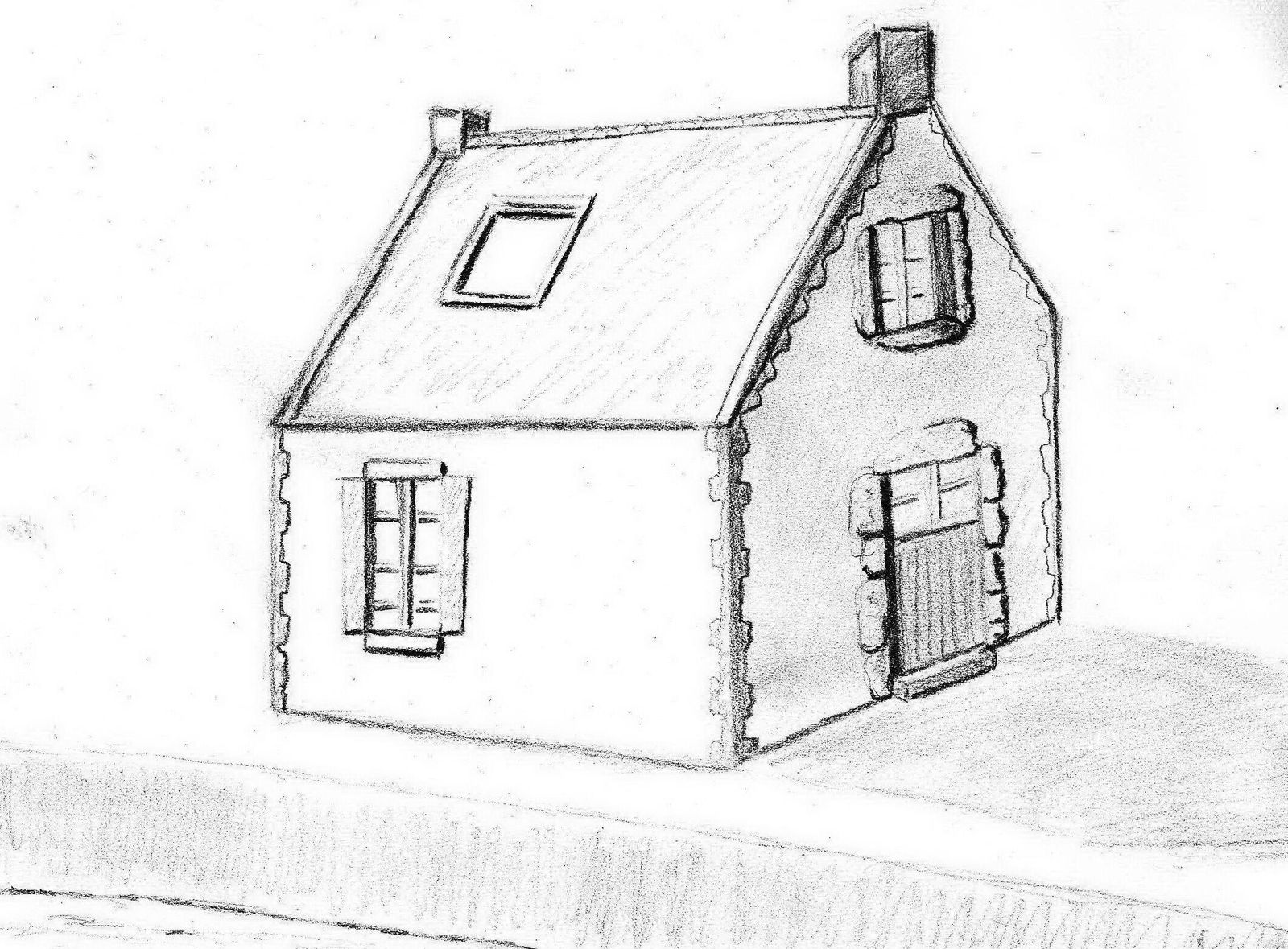 Dessins maison des id es novatrices sur la conception et for Dessin maison