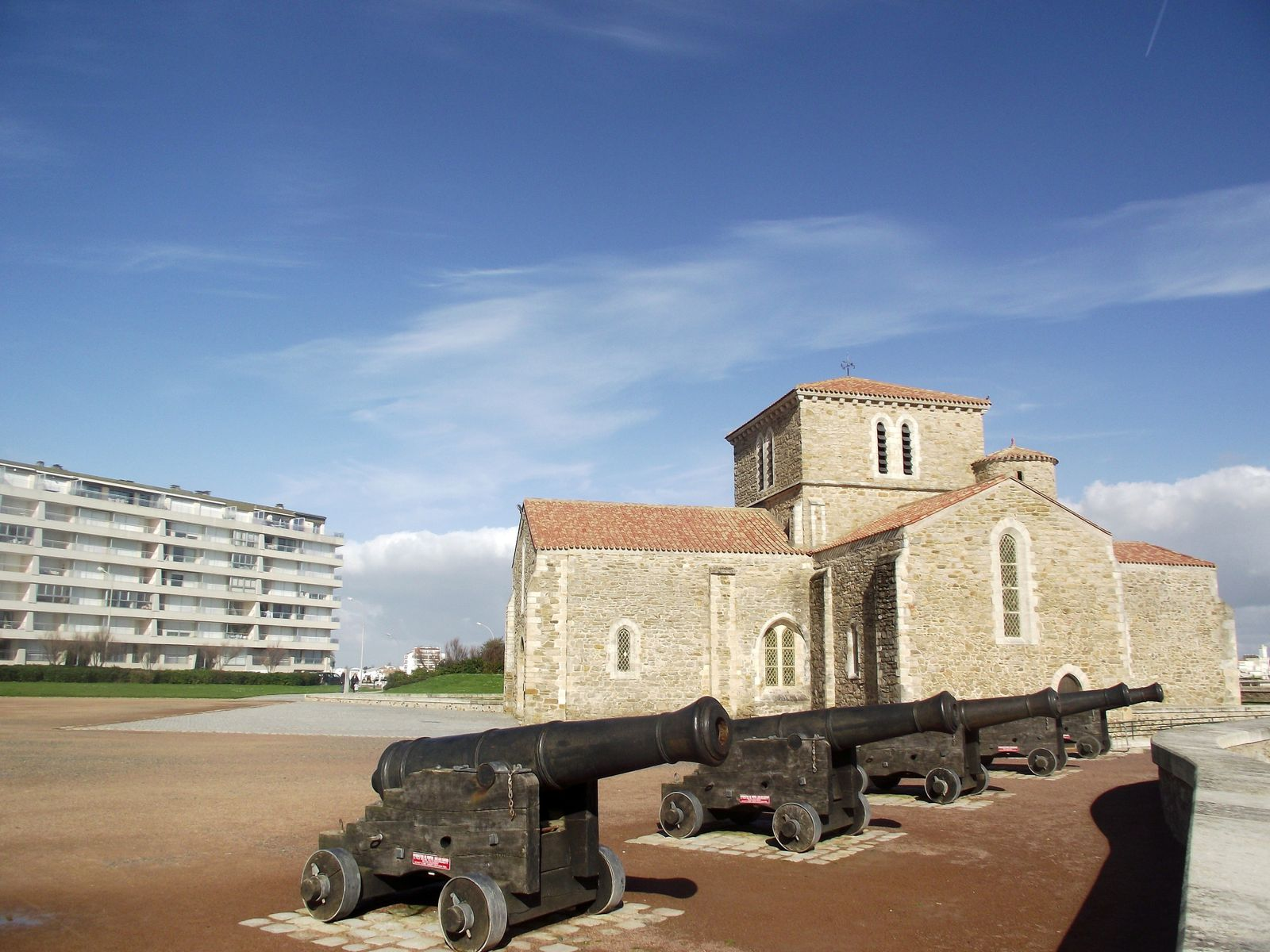 La célèbre station balnéaire vendéenne. Février 2013