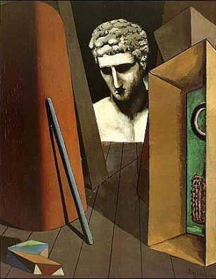 Giorgio-de-Chirico-Melancolie-hermetique--1912