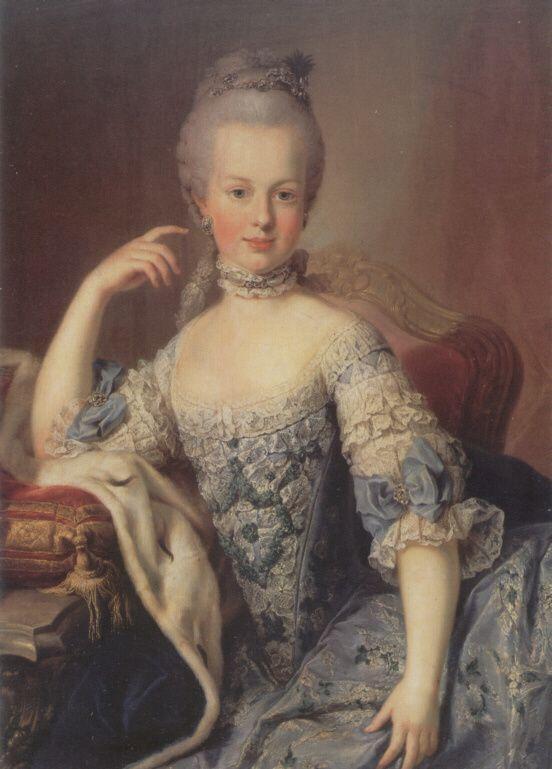 marie a à 12 ans meytens 1767-1768