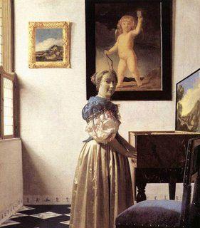 Cupidon Vermeer